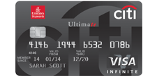 Emirates Citibank Ultimate Credit Card