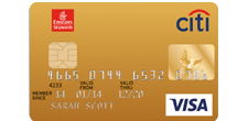 Emirates Citibank Gold Credit Card