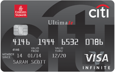 Meet the world with Emirates and Citibank. Best Skywards Miles earn rate guaranteed everytime you spend on the card.