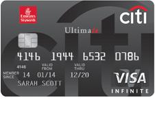 Emirates Citibank Ultimate Credit Card & Benefits - Citibank Bahrain